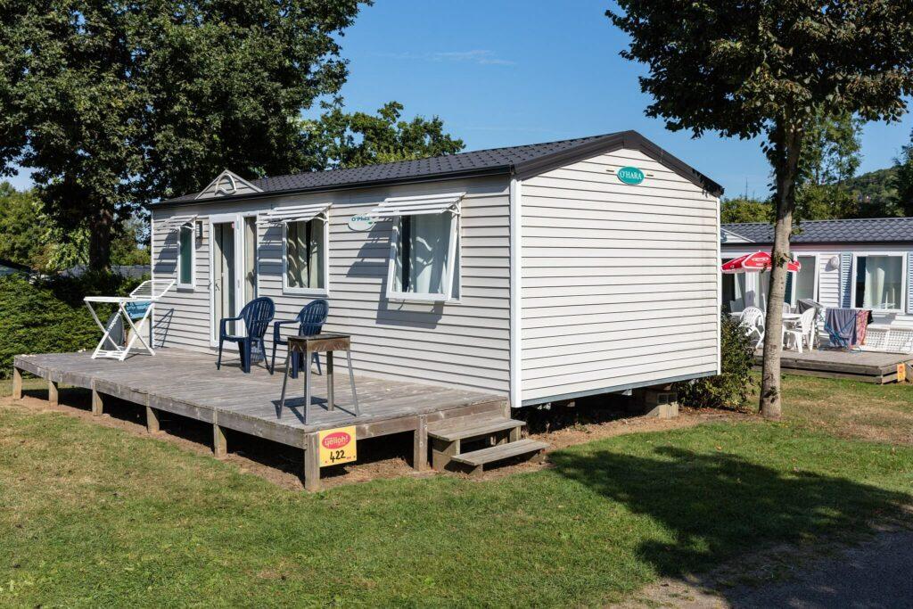 mobil-homes bungalow au camping la Vallée