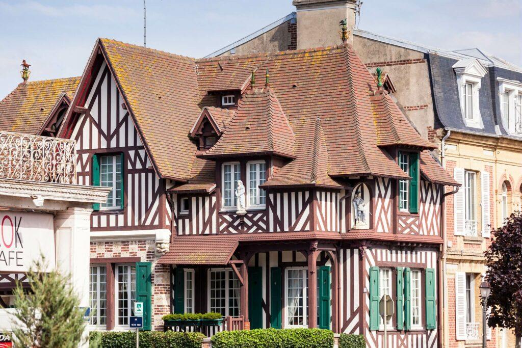 villa typique d'houlgate