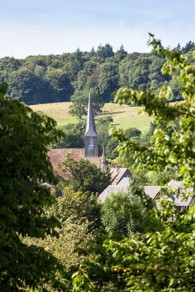 église de normandie